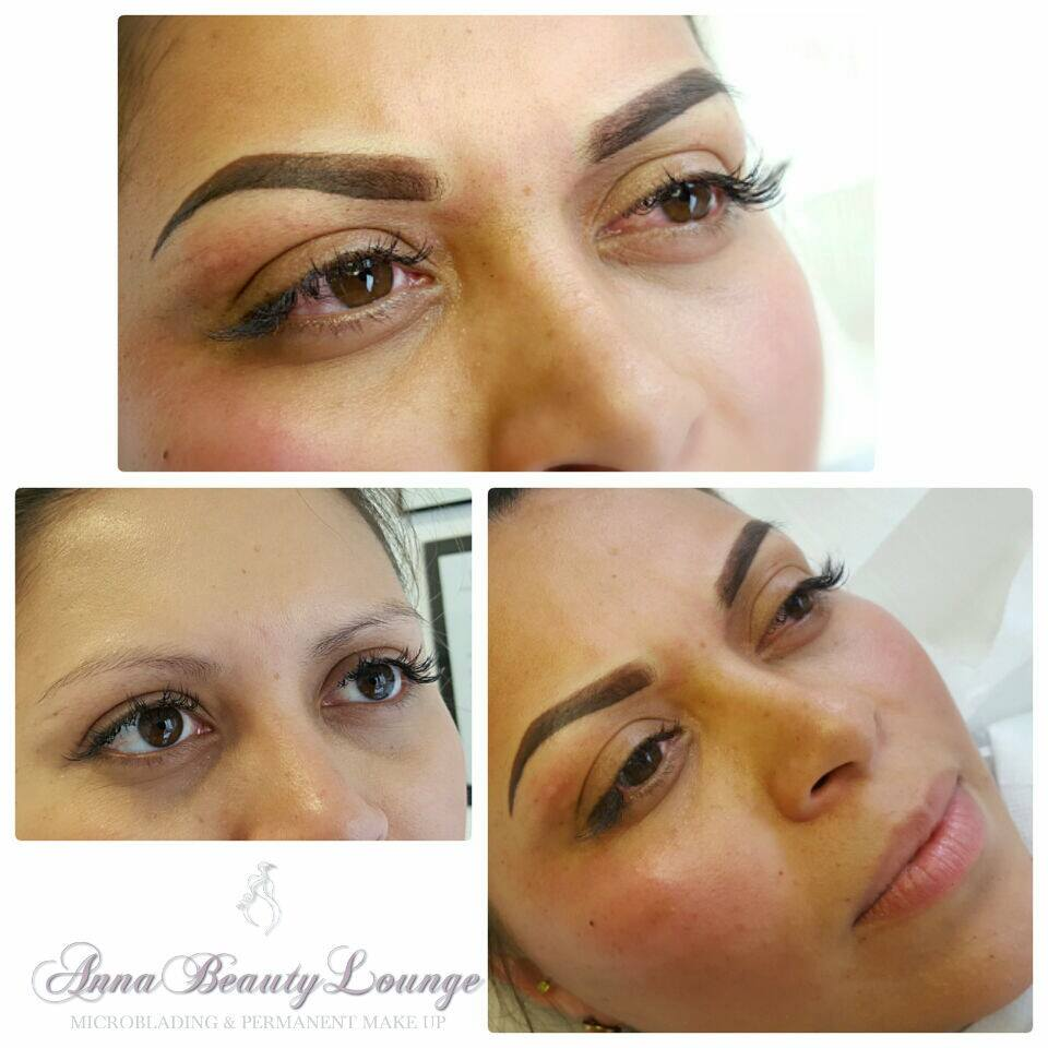 Semi Permanent Makeup Arched Eyebrow Anna Beauty Lounge