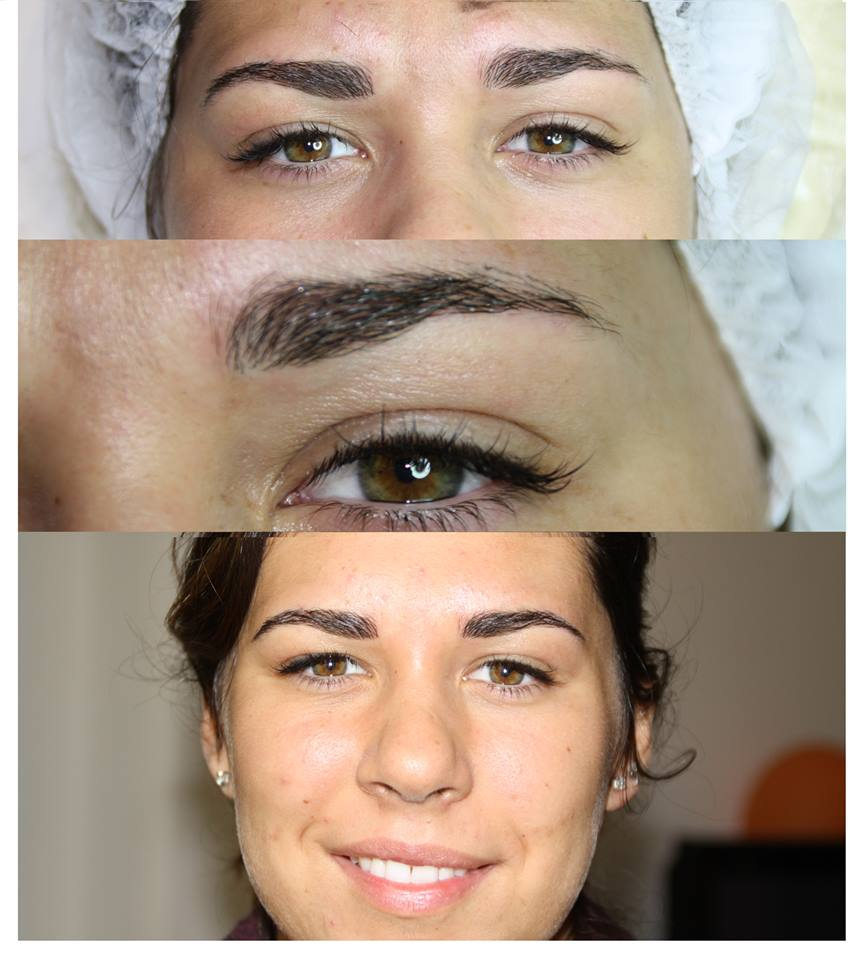 Semi-permanent makeup: Arched eyebrow | Anna Beauty Lounge